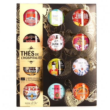Collection de thés de...