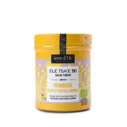 Organic fruity herbal tea