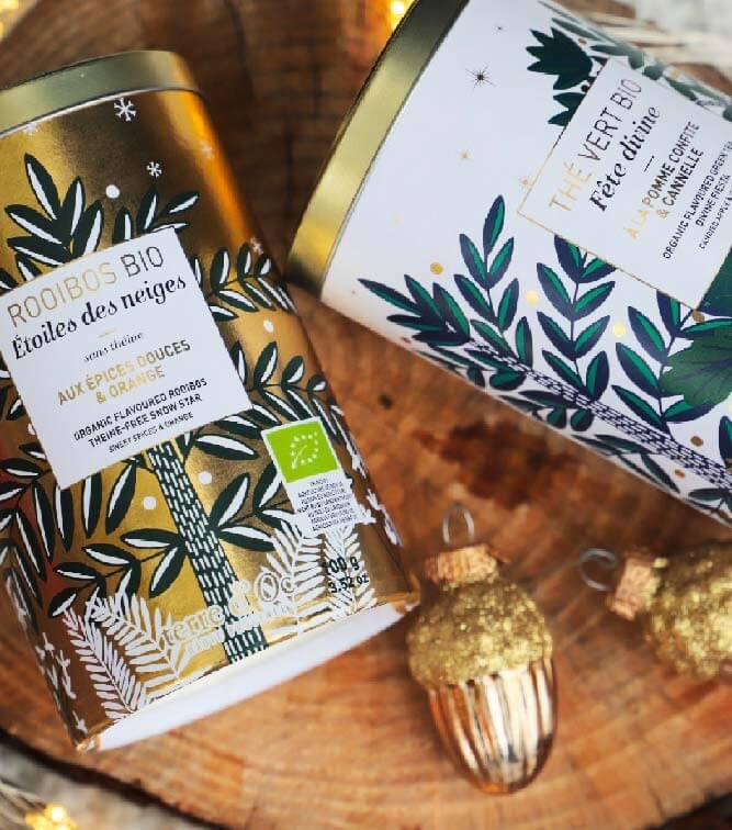 thé et saveurs de Noël