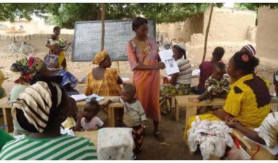 Soutien aux femmes du Burkina Faso pour une agriculture biologique autonome